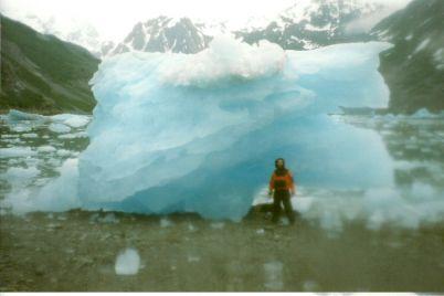 Beached Iceberg, Glacier Bay, McBride Glacier, 1999