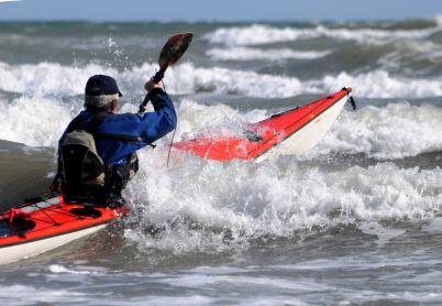 Surfing Bray